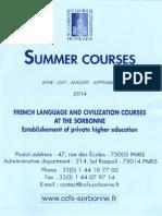 Sorbonne Ete 2014 en 3