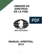 FIDE Arbiters Manual 2013 ESP