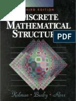 Discrete Mathematical Structures 3rd Ed - B. Kolman, Et Al., (Prentice Hall, 1996) WW