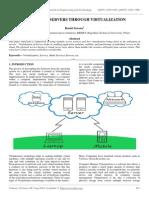 Optimizing Servers Through Virtualization