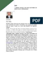 Informe País 2 Factores en Incu