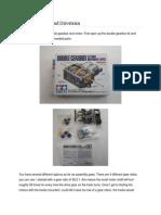 Arduino Motors and Drivetrain