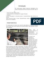 relatório geológico