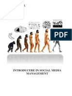 Curs Introducere in Social Media Management