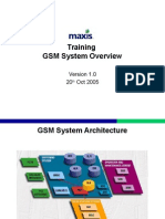 1 GSM Overview