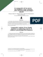 A. Análisis Comparativo Estructuras Familiares