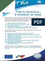 Pliantul 0 TVA in Romania 5 Intrebari de Baza