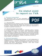 Pliantul 2 Ce Statut Aveti in Raport Cu TVA