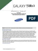 GEN GT-P5210 Galaxy Tab 3 English JB User Manual MFA F4