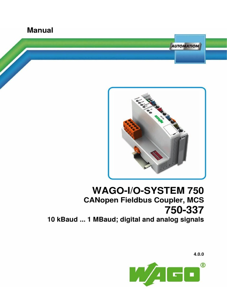 WAGO 750-337 - m07500337_00000000_0.pdf | Electronics | Electrical