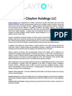 About Clayton Holdings LLC