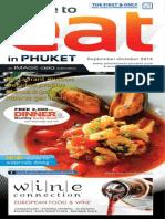 Where to Eat Phuket September - October 2014