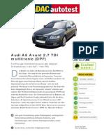 Audi A6 Avant 27 TDI Multitronic DPF