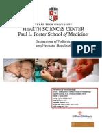 2013 Neonatal Handbook