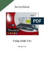 TVGo DVB-T31 Service Manual