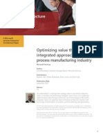 Optimizing Value in Process Manufacturing