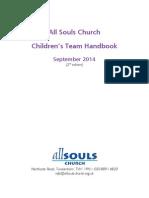 2014 09 Childrens Team Handbook - 2nd Ed