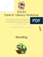 parent reading and writing presentation 2014