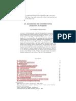 An Algorithm for Constructing Lyapunov Fn