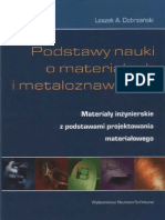 L. a. Dobrzański - Podstawy Nauki o Materiałach i Metaloznawstwo