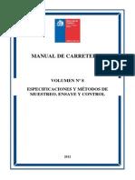 Indice Manual de Carreteras