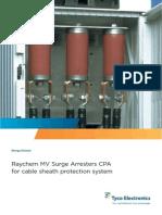 155090971 Cable Sheath Surge Voltage Limiter