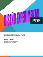 Clase 07 Diseño Experimental