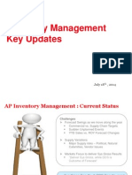 IPO_Inventory Update_Discussion With Chris
