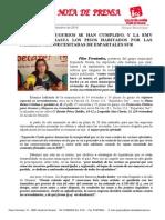 IU Denuncia Que La EMV Ha Sacado a Subasta Los Pisos Habitados Por Las Familias Mas Necesitadas de Espartales Sur
