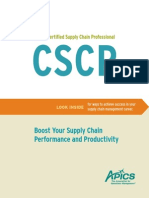 APICS CSCP Brochure Editable