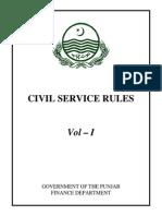 Civil Service Rules