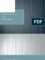 Modul Ekstrasi Gigi