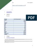 Spatial Analysis - Autocorrelation