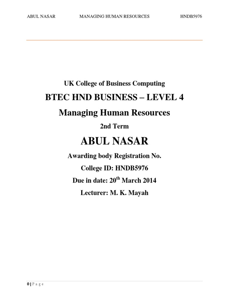 Essays on human resource management perspectives on diversity management