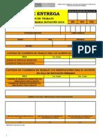 Acta de Entrega de Cuadernos de Trabajo Dotacion 2010