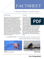 effects of climate change on polar bears fact sheet