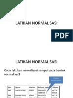 Slide 8 - Latihan Normalisasi