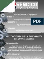 Aplicaciones de La Topografía en Obras Civiles