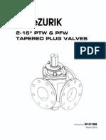 DeZuric Plug Valves