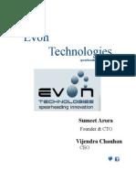 Web Design Development Services by Evontech