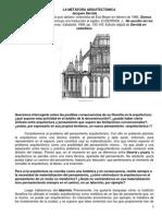 La Metáfora Arquitectónica- Derrida