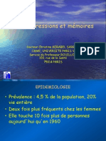 Memoire Et Depression