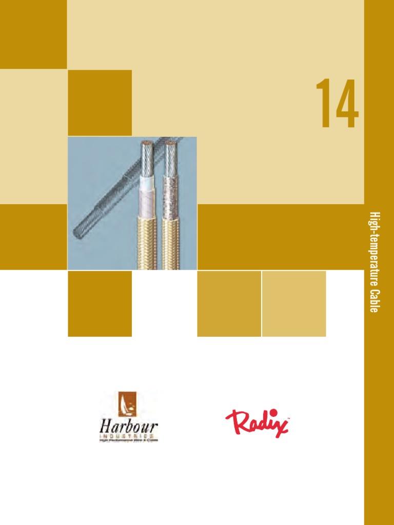 10C0003X0 Anixter Wire&Cable Catalog 2010 Sec14 High Tempurature ...
