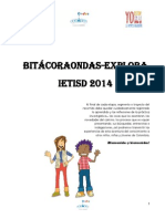Bitacora Ondas-explora 2014