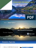 Comparing JVM Web Frameworks February2014