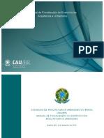 Manual de Fiscalização Do Exercício Da Arquitetura e Urbanismo