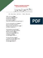 Salmo 22 Domingo a (Dac)