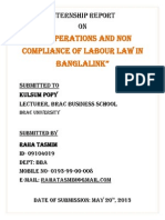 HR policy of banglalink