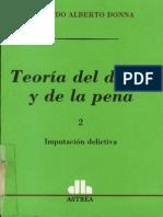 Teoría Del Delito y de La Pena - Edgardo Donna - Tomo II