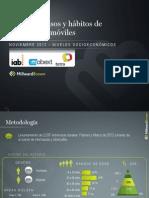 Estudio Habitos Dispositivos Moviles Mexico Noviembre 2012 Iab